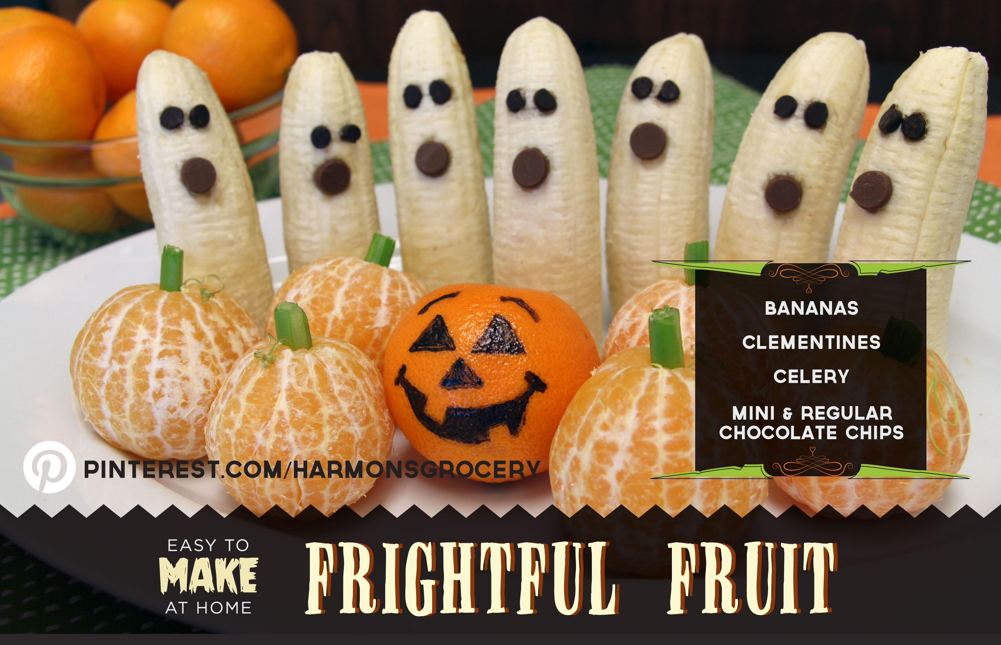Easy to Make at Home Halloween Recipes | Blog | Harmons