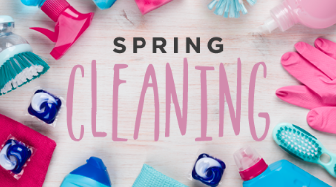 Harmons Spring Cleaning Hacks