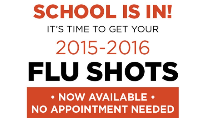 Flu Shots Have Arrived!