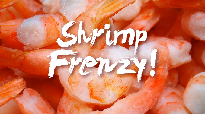 A Shrimp Frenzy For The Big Game!