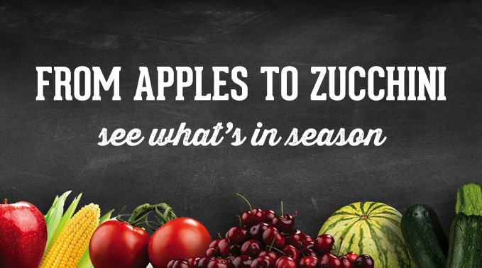 From apples to zucchini: A guide to local Utah products in season