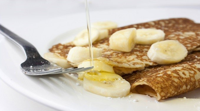 Great Health Tip: Two Ingredient Banana Pancakes