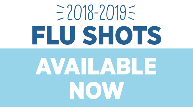 Flu Shot Now Available