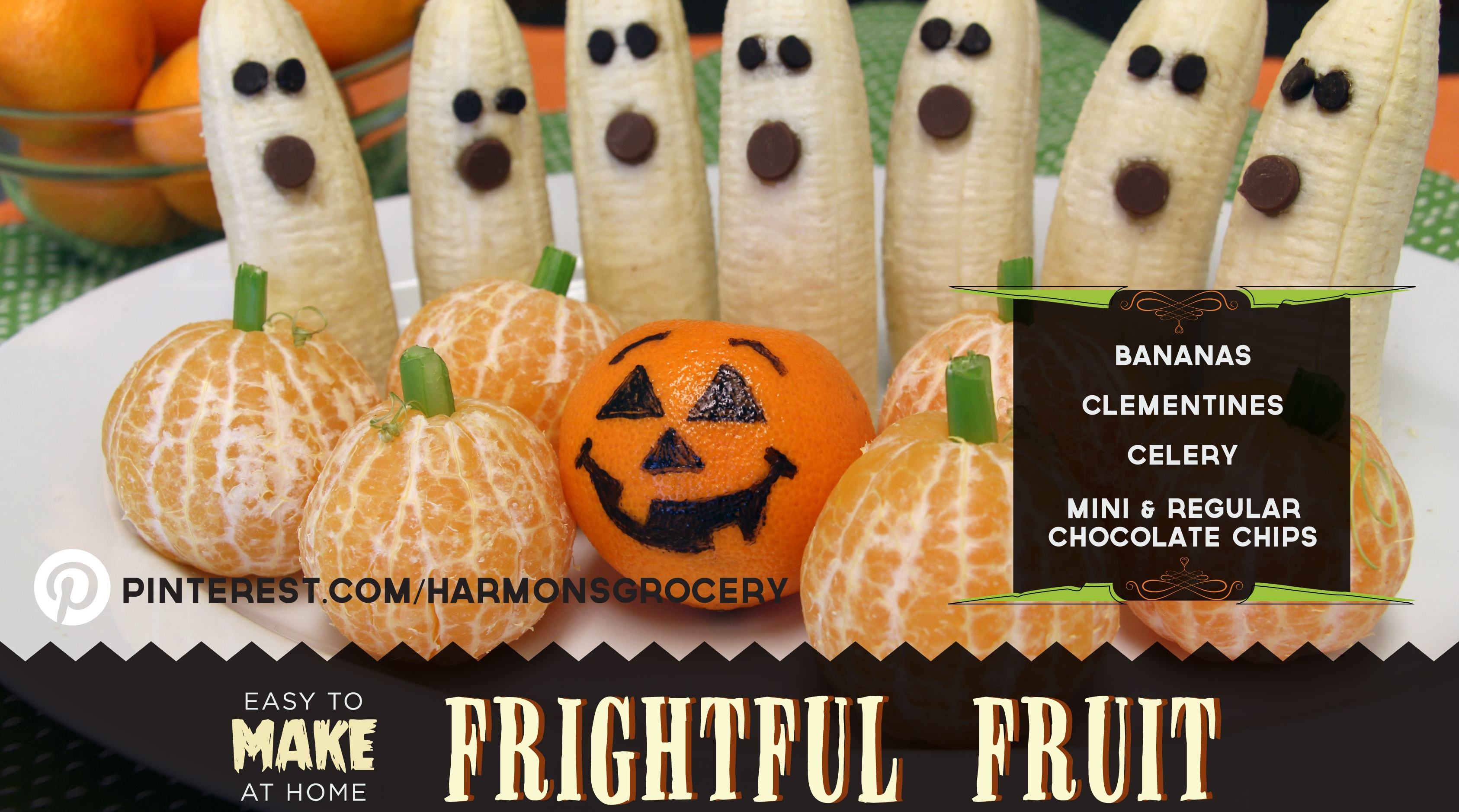 Frightful Fruit How-To