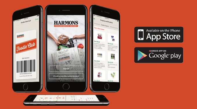 The Harmons App is Here