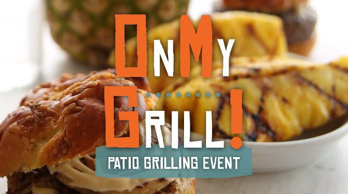 OMG (On My Grill) Patio Event
