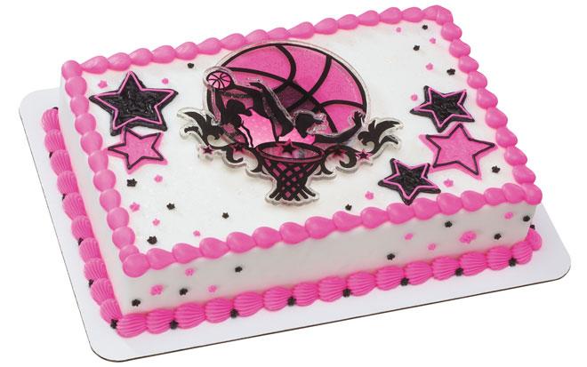 Basketball StarsGirls Cake
